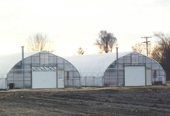 The Greenhouse At Rhinebeck. 30 x96 galvanized greenhouse